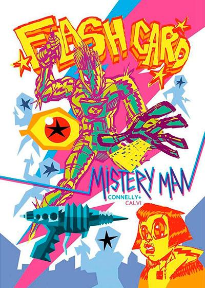Flash Card Mistery Man
